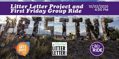 Litter Letter Project and First Friday Group Ride! tickets