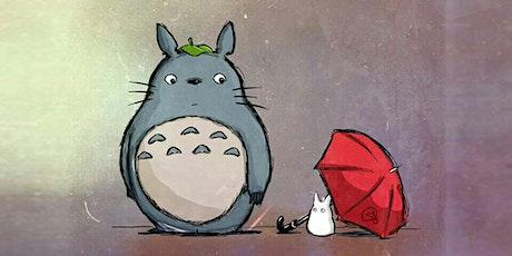60min Intermediate Digital Art Lesson  - Anime Totoro & Friend (Ages 8+) tickets