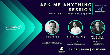 Ask me anything with Tech & Business Experts tickets