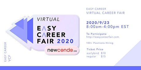 Easy Career Fair - Virtual  2020 tickets