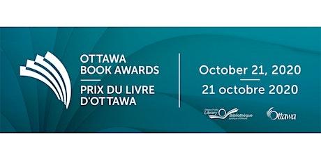 Ottawa Book Awards Ceremony 2020 / Céremonie du Prix du livre d'Ottawa 2020 tickets