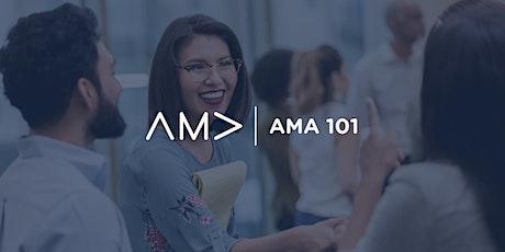 [Virtual] AMA 101 tickets