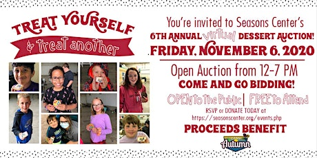 Camp Autumn Virtual Dessert Auction  | OPEN AUCTION 12-7 PM tickets
