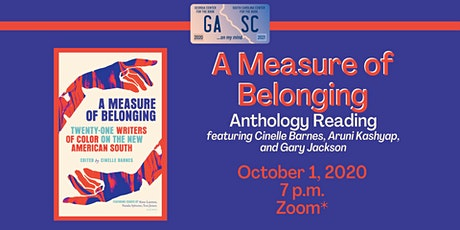 """A Measure Of Belonging""- Anthology Reading tickets"