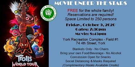 FREE Movie Under the Stars tickets