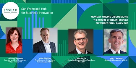 INSEAD SF Monday's: The Future of (Clean) Energy tickets