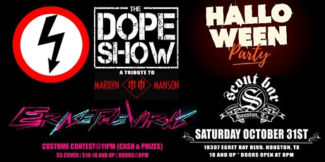 Halloween Party featuring The Dope Show & Erase The Virus tickets
