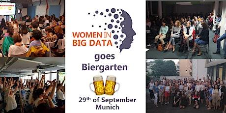 Women in Big Data Munich goes Biergarten entradas