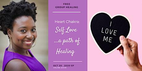 Group Energy Healing: Heart Chakra - Self Love...a path to healing tickets