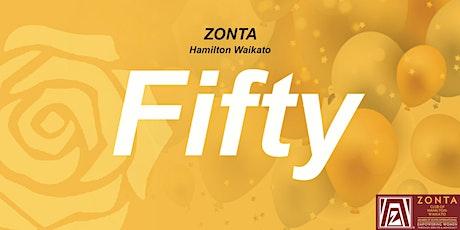 Zonta Club of Hamilton-Waikato 50th Birthday Celebration tickets