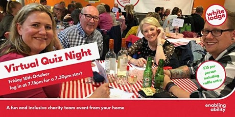 White Lodge Virtual Quiz Night tickets