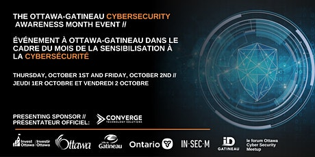 Ottawa-Gatineau Cybersecurity Awareness Month Events ingressos