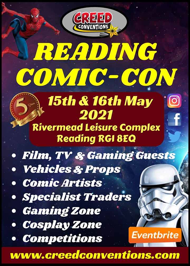 Reading Comic-Con 2021 image