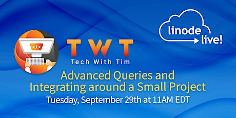 Tech with Tim: Python Database Project #2 - Advanced Queries and Operations tickets