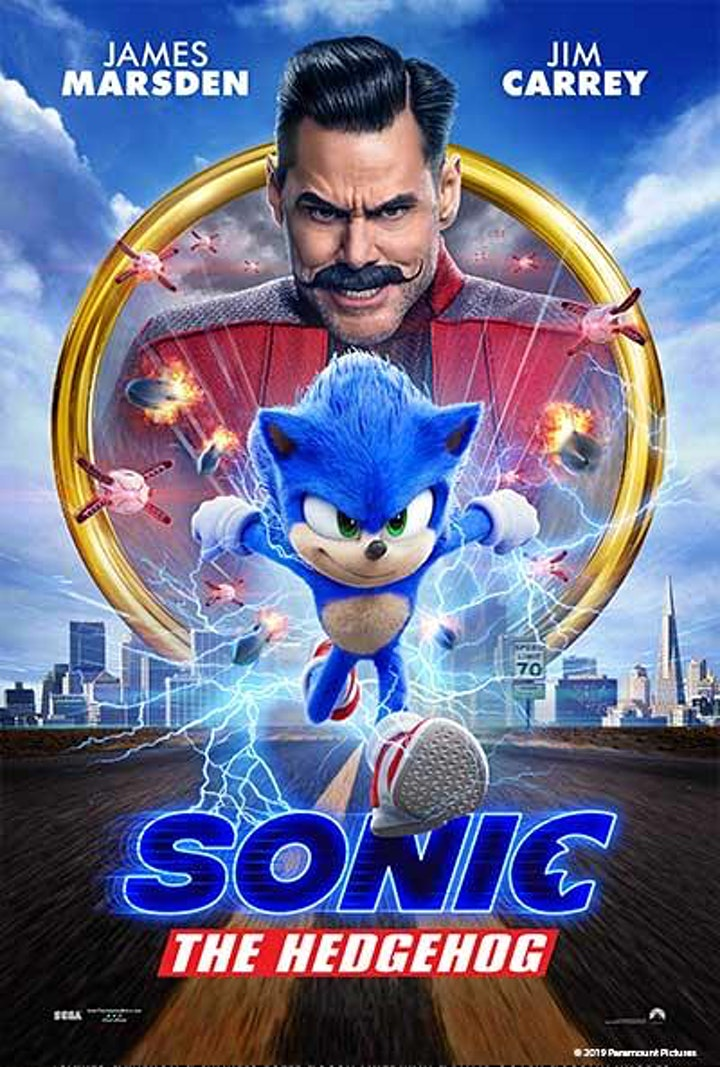 Starlite Drive In Movies -SONIC THE HEDGEHOG image