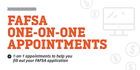 FAFSA One-on-One Assistance October 5th-October 9th tickets