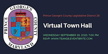 Legislative District 26 Virtual Town Hall tickets