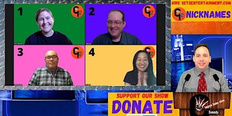Comedy Friendzy:  Online Interactive Joke Game Show.  Season 2 tickets