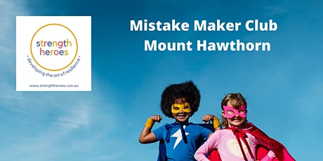 Mistake Maker Club (Ages 6+) - 6 weeks starts 20 October tickets