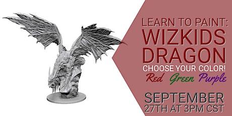 Learn to Paint: WizKids Dragon tickets