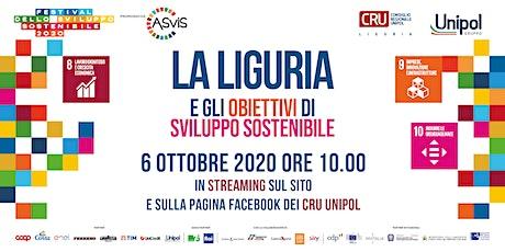 La Liguria e gli Obiettivi di Sviluppo Sostenibile biglietti