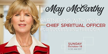 Chief Spiritual Officer for Success and Freedom May McCarthy tickets