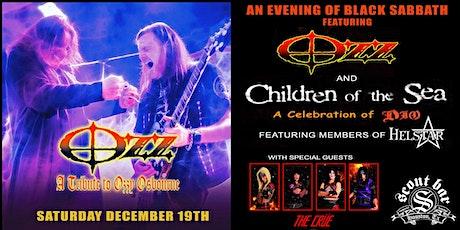 An evening of Black Sabbath featuring OZZ & Children of the Sea tickets
