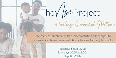 Wounded Mothers & Those Who Love Her: Creative Healing Retreats Day:7 tickets