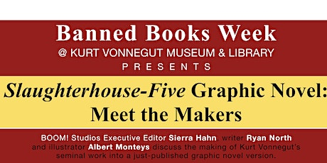 Day 6 Banned Books Week - Making of the Slaughterhouse-Five graphic novel tickets