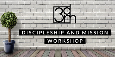 3DM Virtual Discipleship and Mission Workshop tickets