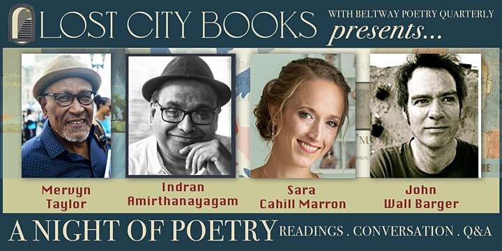 Lost City Books presents: A NIGHT OF POETRY image