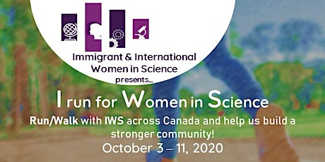 I run for Women in Science campaign (IWS) tickets