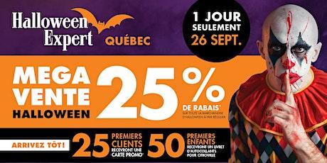 Grandre Ouverture Halloween Expert Québec tickets