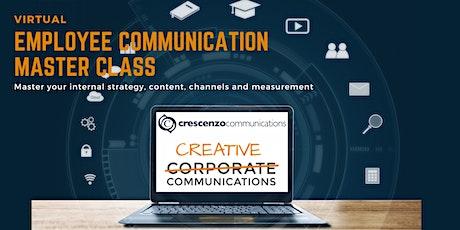 Virtual Employee Communications  Master Class tickets