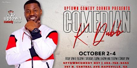 Comedian K Dubb tickets