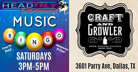 Music Bingo at Craft and Growler! tickets