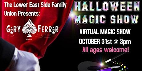 Halloween Virtual Magic Show tickets