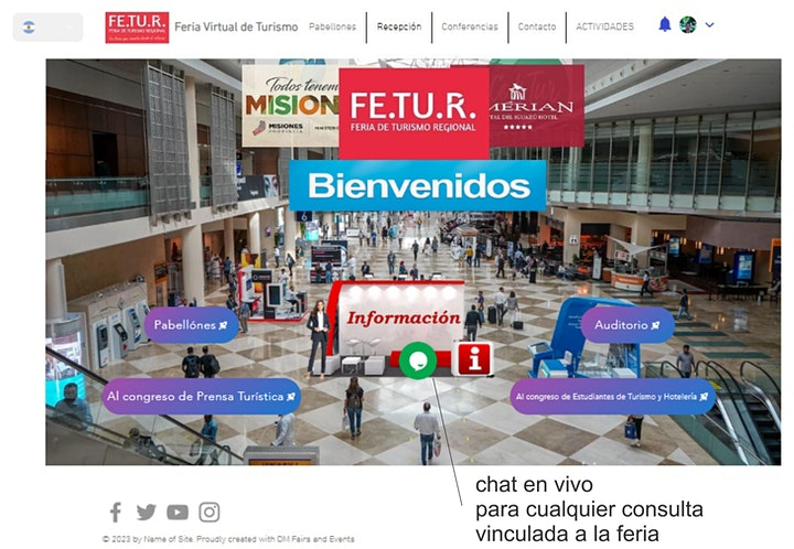 Imagen de FE.TU.R. Feria Virtual de Turismo de Argentina