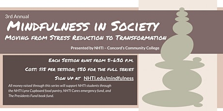 Mindfulness in Society: Moving from Stress Reduction to Transformation tickets