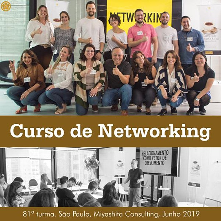 Imagem do evento Curso de Networking e Marketing Pessoal - 89ª turma. Em BH.