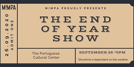 End of Year Show tickets