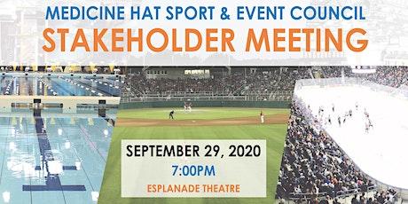 MHSEC Stakeholder Meeting tickets