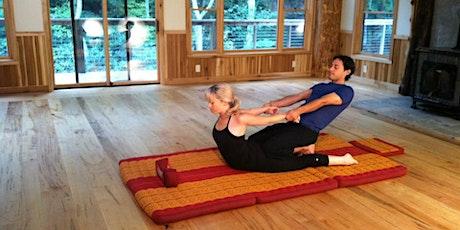 Thai Yoga Bodywork Certification Training - Live Webinar (36 CE's)
