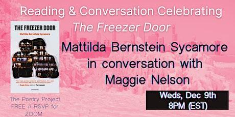 Mattilda Bernstein Sycamore & Maggie Nelson tickets