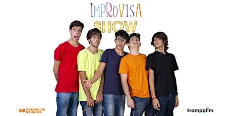ImprovisaShow #1120 ingressos