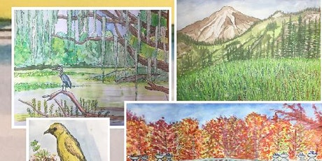 Beauty in Nature Drawing and Watercolor Class tickets