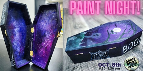 Coffin Box Paint Night! tickets