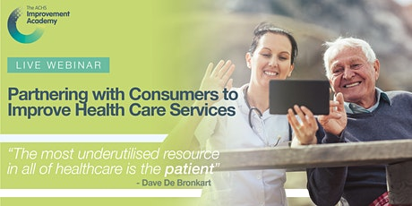 Partnering with Consumers to Improve Health Care Services (41087) tickets