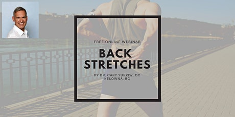 Advanced Stretches and Exercises for Back Pain tickets