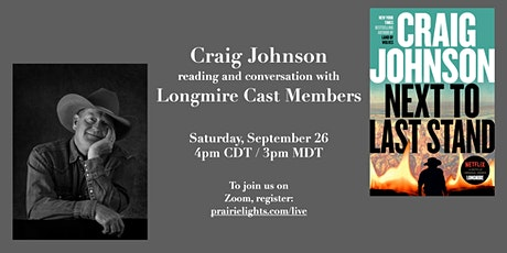 Craig Johnson: Reading and Discussion with Longmire Cast Members tickets
